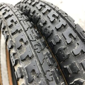 """Old School BMX GT Tires Big Wings Center Stamp Logo Performer 20"""" Freestyle"""