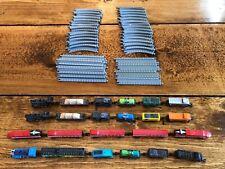 Large Train Lot Vintage Micro Machines 1980s Track/Train Sets