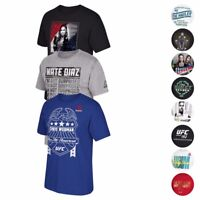 UFC Various Fighter Inspired Graphic Print T-Shirt Collection Men's By Reebok