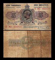 2x  5 Shillings - Ausgabe ND 1919 George V at Center - 23 - Reproduktion