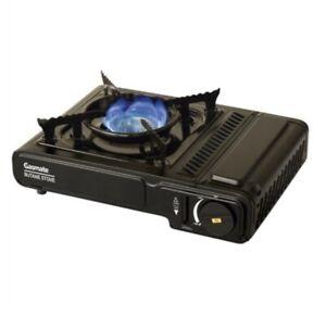 Butane Stove Portable Gasmate® Single Gas Burner Camp Cooker & Case AGA APPROVED