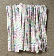 "100 Baby Twist Ties, Baby Shower Twist Ties - 3 1/2"""