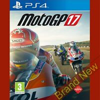 MotoGP 17 - PlayStation 4 PS4 ~3+ Racing Game - Brand New & Sealed!