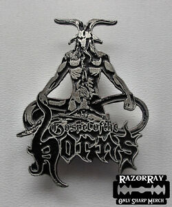 GOSPEL OF THE HORNS - Official Metal Pin / Urn Desaster Deströyer 666 Ketzer