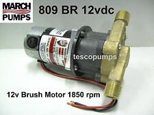 March  809 BR  12vdc Hot water pump