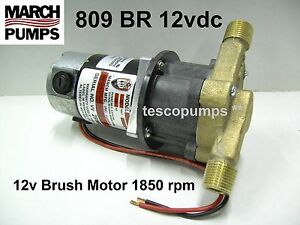 March Pump 809 BR 12vdc 0809-0100-0200 PLX-809-200