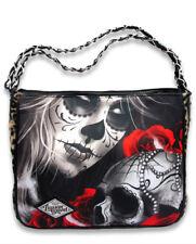Liquorbrand Eternal Bliss Chain Shoulder Bag Gothic Sugar Skull Handbag