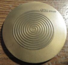 "Olin Ammunition Manufacturer Brass 2-3/4"" Large Medal - Token"