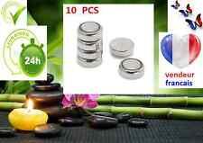 10 piles boutons 1.55 V AG4 LR626 LR66 377 SR626SW 177,sr66, pour montre etc...