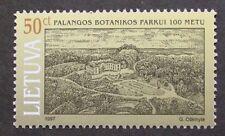 Centenary of Palanga Botanical park stamp, 1997, Lithuania, SG ref: 647, MNH