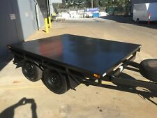 Brand new Table Top Flat bed Trailer TANDEM AXLE 8X6.7FT 2T 10ft 16ft also avail