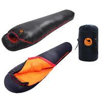 Mummy Sleeping Bag 1000g White Duck Down Waterproof Outdoor Hiking Camping -17℃