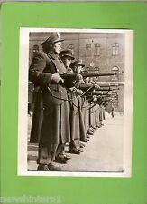 #D155. 1947 PHOTO OF HUNGARIAN POLICE WOMEN