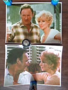 2 stills / Kleinaushangfotos  All Night Long  Gene Hackman, Barbra Streisand