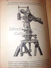 GEOGRAFIA Illustrati: Baggi, TOPOGRAFIA 1931 + Vetere, GEODESIA PRATICA 1919
