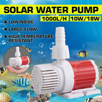 DC12V Submersible Fish Water Pump Pond Aquarium Tank Waterfall Fountain Sump