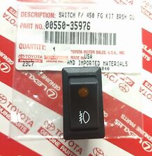 Toyota Illuminated Fog Light Switch Genuine OEM LED Light Bar 00550-35976