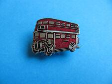 London Double Decker Red Bus Lapel badge. New. Hard Enamel.