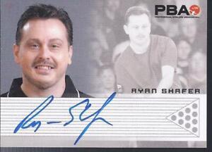 2008 PBA Bowling Autograph Ryan Shafer