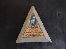 Antique Bull Dog Fly & Insect Powder, Unusual Box