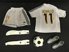 RONALDO BARCELONA FC KIT 1/6 ACTION FIGURE VERY HOT MAN TOYS BBI SIDESHOW DRAGON
