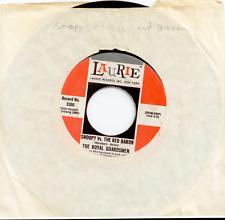 "45 RPM 7"" Vinyl - Royal Guardsmen - Snoopy vs. The Red Baron"