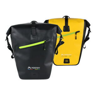 Nooyah Pannier Dry Bag Bike Bicycle Rear Rack Pannier Bag Waterproof Seat Box