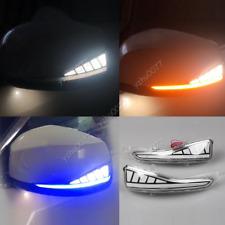 2X LED Rearview Mirror Light Turn Signal For Infiniti QX30 QX50 QX60 Q50 Q60 Q70