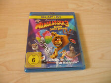 Blu RAY Madagascar 3-Escape from Europe-incl. DVD