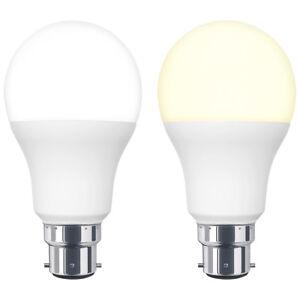 10W GLS LED Light Bulb 3 PIN Bayonet BC3 10W = 100W Warm or Cool White A60 Bulb