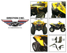 DIRECTION 2 Overfenders - CAN-AM Renegade 500/570/800/850/1000 - OFSCA3000