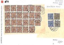 D77 1953 Dinamarca forma Postal * cuotas de gastos de envío * Cuotas espectacular artículo 23kr 76ore