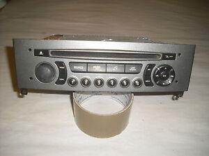 autoradio origine cd peugeot 308 rd4  (ref 3719)