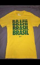 T-Shirt Nike Brasil Vert Et Jaune