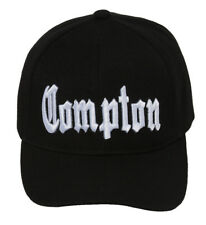 City of Compton Hat Cap 3D Embroidery - Black w/ Sunglasses