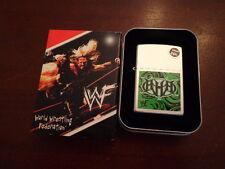 TRIPLE H WWF WORLD WRESTLING FEDERATION NOW THE WWE ZIPPO LIGHTER MINT