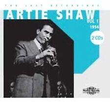 Artie Shaw   -   Last Recordings   1954    [CD]