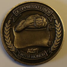 1st Special Forces Group Airborne Serial #A217 Army Challenge Coin Older