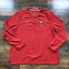 Denison University Big Red Lacrosse Jacket Pullover Mens 2X XXL Granville, Ohio