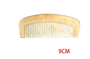 OX Horn Natural Anti Static Hair Comb Moustache Beard Healthy Scalp Comb