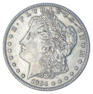 Early - 1884 Morgan Silver Dollar - 90% US Coin *259