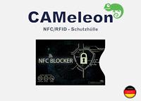 5x NFC Schutzhülle I für EC-Karten, Kreditkarten, Ausweise I RFID Schutzhülle
