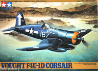 Tamiya 61061 1/48 Scale Fighter Aircraft Model Kit Vought F4U-1D Corsair Mk IV
