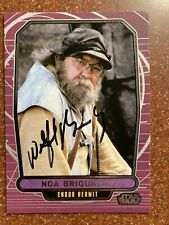 Wilford Brimley TOPPS Auto Card Autograph STAR WARS EWOKS BATTLE FOR ENDOR NOA