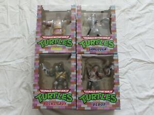 PCS Collectibles TMNT Wave 2 Complete Set of 4  1:8 Scale PVC Statues (NEW)