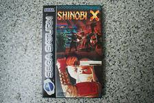 SHINIOBI X Spiel für SEGA SATURN mit Anleitung und OVP PAL DE