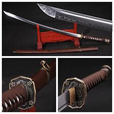 Clay Tempered Japanese 98 Type Military Samurai Sword Katana Sharp Blade -2011