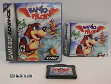 Banjo-Pilot (Nintendo Game Boy Advance 2005) COMPLETE IN BOX!! w/ Shrink!! GBA