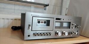 Kenwood KX-1003 3-Head Stereo Cassette Tape Deck (1977-80)