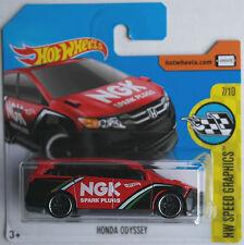 "Hot Wheels - Honda Odyssey rot/schwarz ""NGK Spark Plugs"" Neu/OVP"